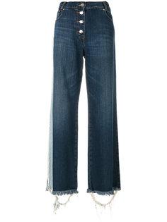 широкие джинсы с бахромой Each X Other
