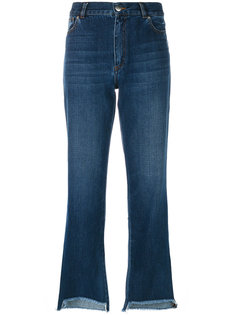 джинсы с необработанными краями Each X Other