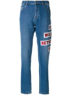 джинсы мешковатого кроя с вышивкой Each X Other