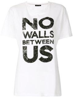 футболка с рисунком Each X Other