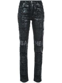 блестящие джинсы Erosion Hood By Air
