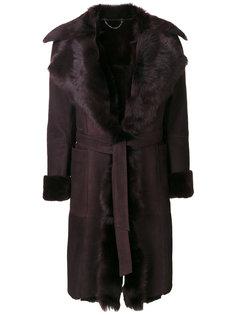 классическое приталенное пальто  Desa Collection