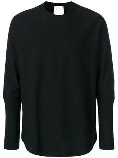 свитер с удлиненными манжетами Stephan Schneider