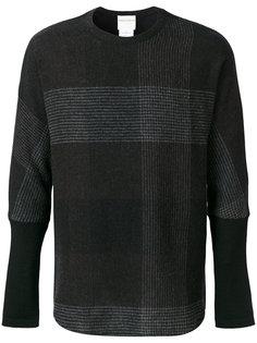 свитер в крупную клетку Stephan Schneider