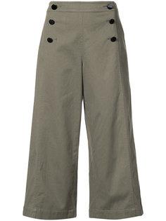 wide leg cropped pants Kate Spade