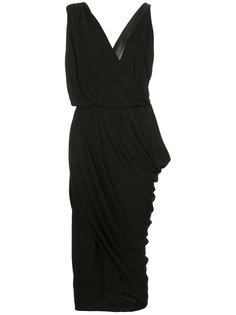 draped wrap dress Michael Kors