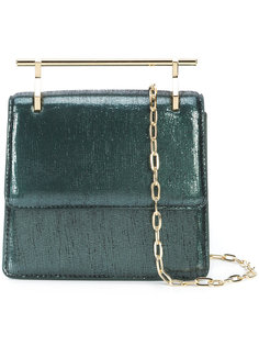 mini metallic effect crossbody bag M2malletier