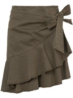 юбка с рюшами Cinq A Sept