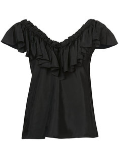 блузка с рюшами Cinq A Sept