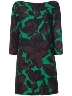 macro floral print dress Milly