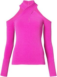 crisscross neck blouse Milly
