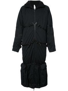 длинное пуховое пальто Cottweiler