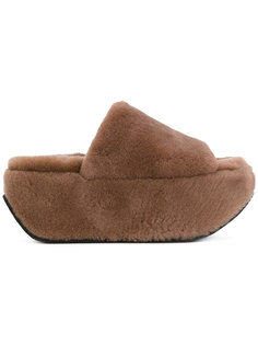 сандалии на платформе Peter Non