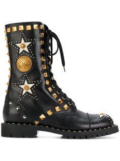 ботинки с заклепками Anfibio Fausto Puglisi
