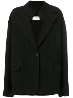 свободное короткое пальто  Maison Margiela