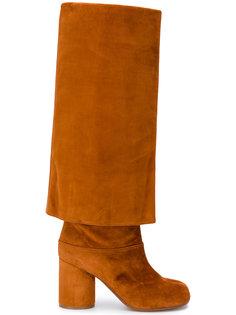 высокие сапоги свободного кроя Tabi Maison Margiela