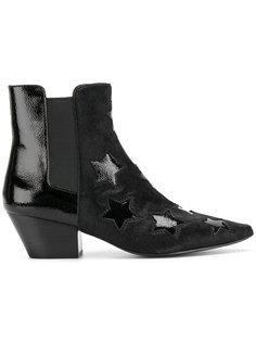 ботинки по щиколотку со звездами Ash