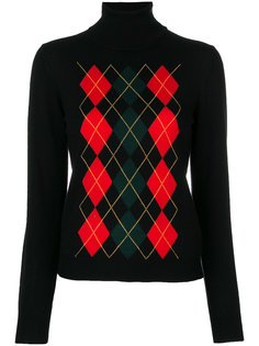 свитер в ромбик P.A.R.O.S.H.
