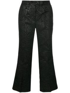 текстурированные укороченные брюки Essentiel Antwerp