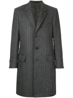 удлиненное пальто  Gieves & Hawkes