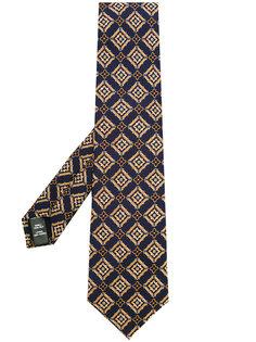галстук с вышивкой Gieves & Hawkes