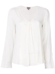блузка с мягкими складками Armani Collezioni