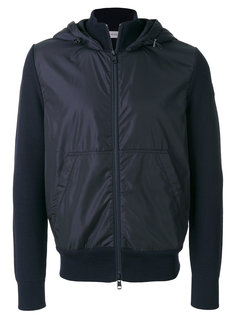 фактурная куртка с капюшоном  Moncler