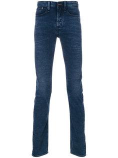 джинсы с линялым эффектом Denham