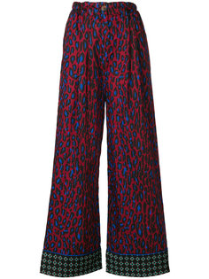 расклешенные брюки Michel Klein