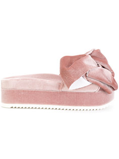 бархатные сандалии Flamingo Joshua Sanders