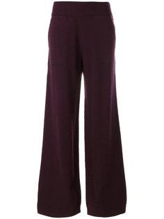 широкие вязаные брюки Barrie