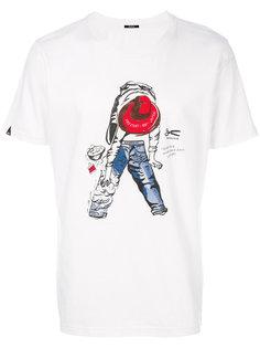 футболка с графическим принтом Denham