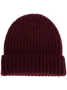 шапка-бини с ребристой фактурой Danielapi