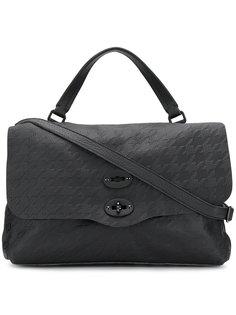 сумка-тоут с откидным верхом на двойной застежке Zanellato