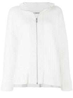 стеганая куртка на молнии  Paco Rabanne