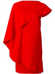 платье с асимметричными рукавами Givenchy