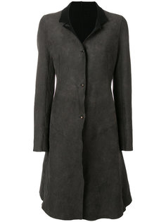 пальто со вставками  Isaac Sellam Experience
