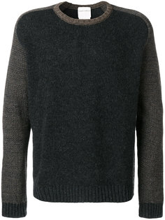 свитер с контрастными рукавами Stephan Schneider