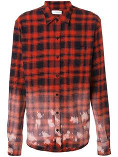 свободная рубашка в шотландскую клетку Faith Connexion