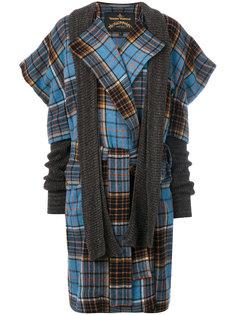 пальто с принтом тартан Dionysian Vivienne Westwood Anglomania