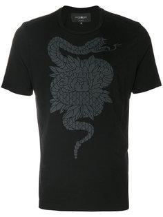 футболка с изображением змеи Hydrogen