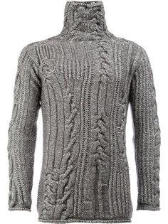 свитер объемной вязки Rochas