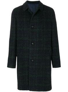 пальто в клетку Mp  Massimo Piombo