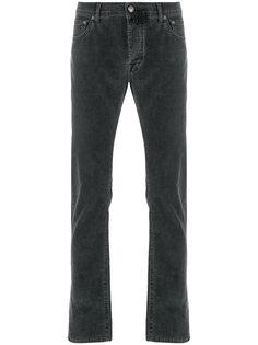 вельветовые джинсы прямого кроя Jacob Cohen