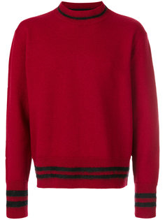 свитер с контрастными полосками Marni
