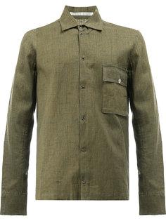 рубашка в стиле сафари с карманом Taichi Murakami