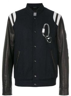 куртка-бомбер  college  Lanvin