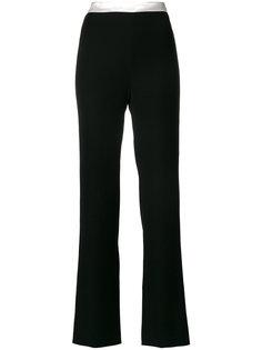 брюки с контрастным поясом  Lanvin