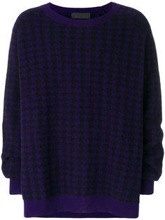 свитер с вышивкой Haider Ackermann