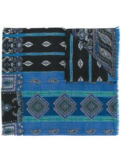шарф с узором пейсли Etro